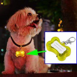 Dog LED Collar Pendant